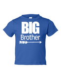 Big Brother Funny Toddler Tee Royal 2T