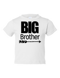 Big Brother Funny Toddler Tee White 2T