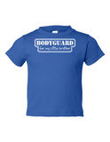 Bodyguard For Little Brother Funny Toddler Tee Royal 2T