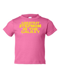 Greatest Stepmom In The Galaxy Funny Toddler Tee Pink 2T