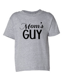 Moms Guy Funny Toddler Tee Gray 2T