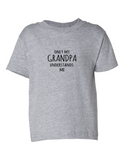 Only My Grandpa Understands Me Funny Toddler Tee Gray 2T