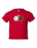 Smiley Faces Mixed Funny Toddler Tee