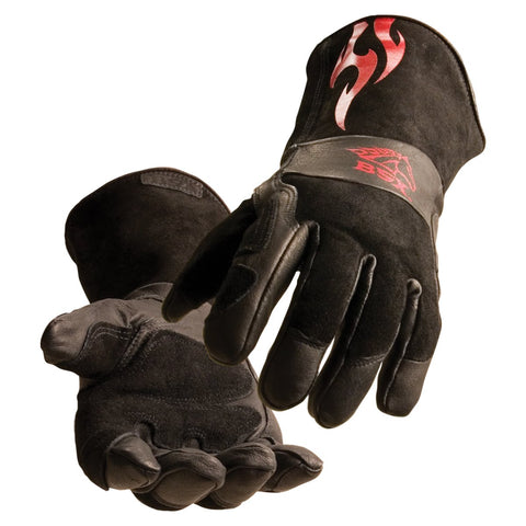 Black Stallion Welding Gear BSX® Advanced Fit Stick Glove with DragPatch®