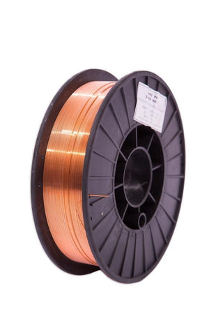 "Crossfire Welders Consumables .024"" / 0.6mm ER 70S-6 Copper Coated Mig Wire (5kg / 11lbs)"