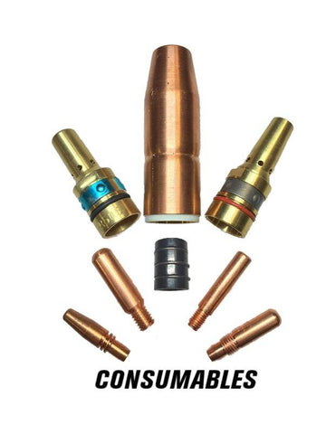 Crossfire Welders Consumables 23-37F 23F-Series Tweco Style Nozzles
