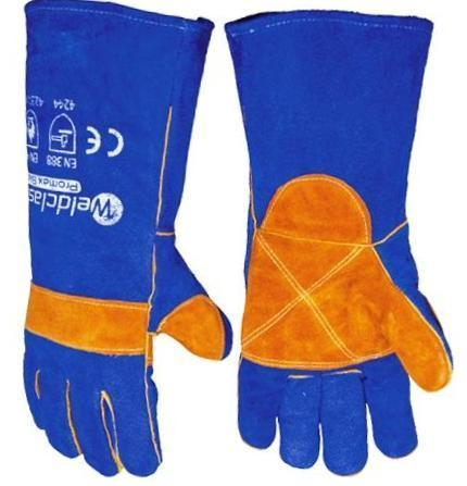 Weldclass Welding Gear L - Large Promax Blue Welding Glove