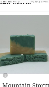 Mountain storm soap