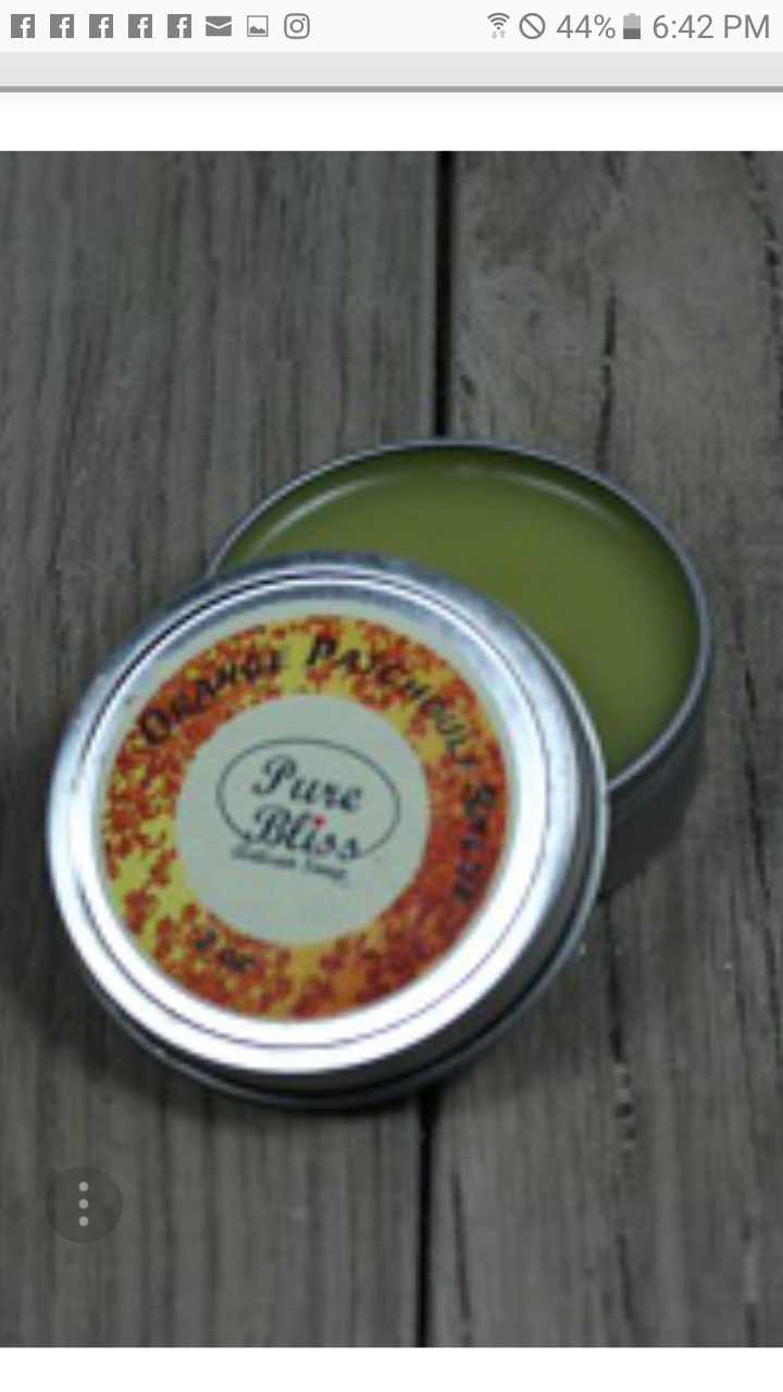 Patchouli Orange salve