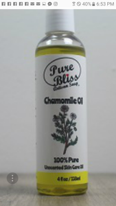Chamomile carrier oil