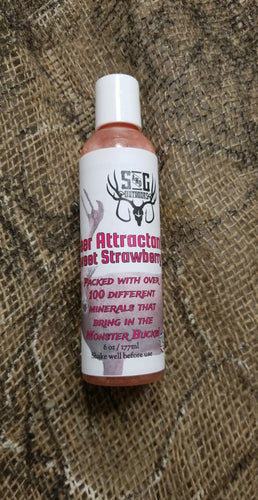 Strawberry attractant mineral lick