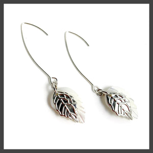 Maiden Earrings in Silver