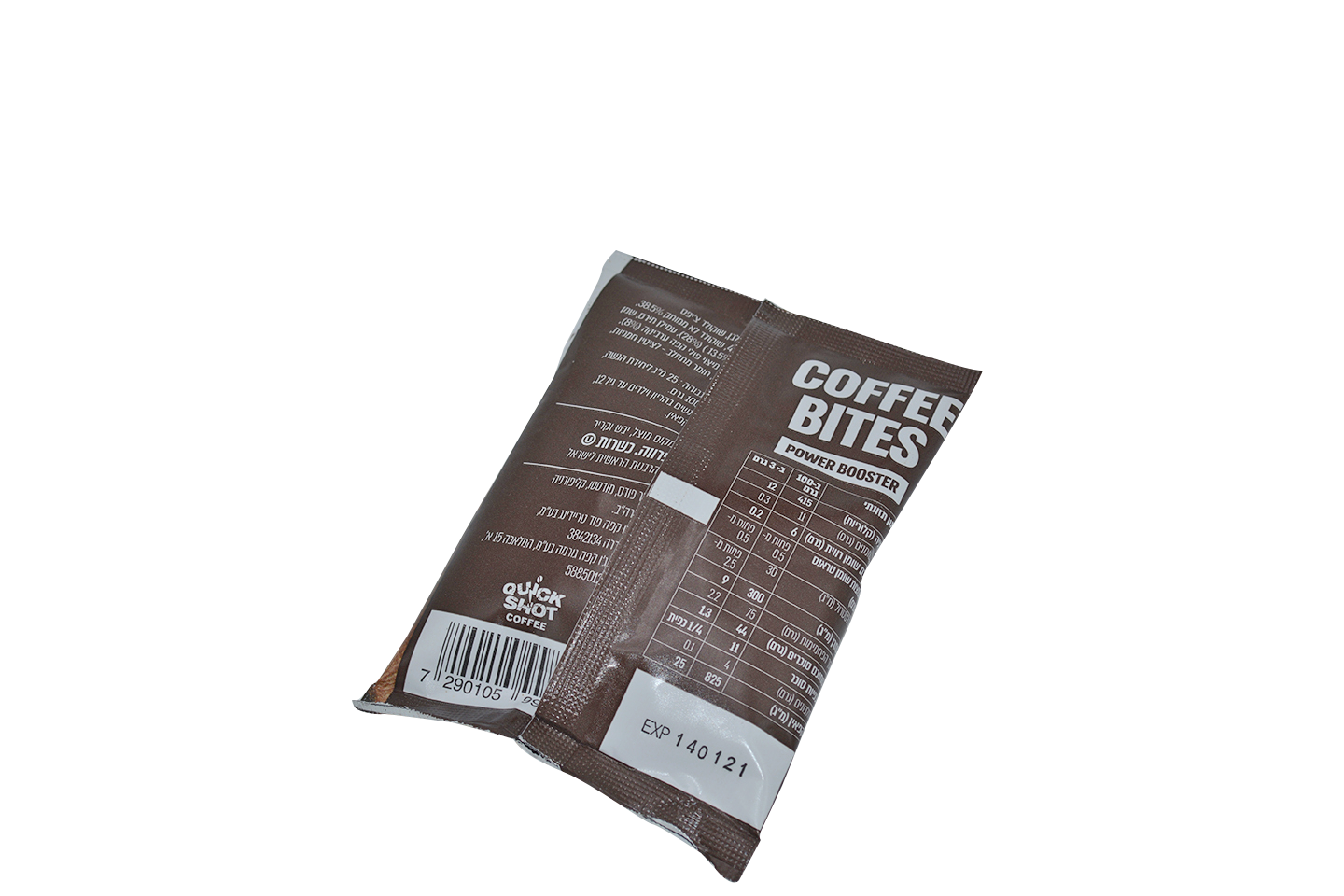 Coffee Bites Single Pack - A coffee and chocolate energy boost