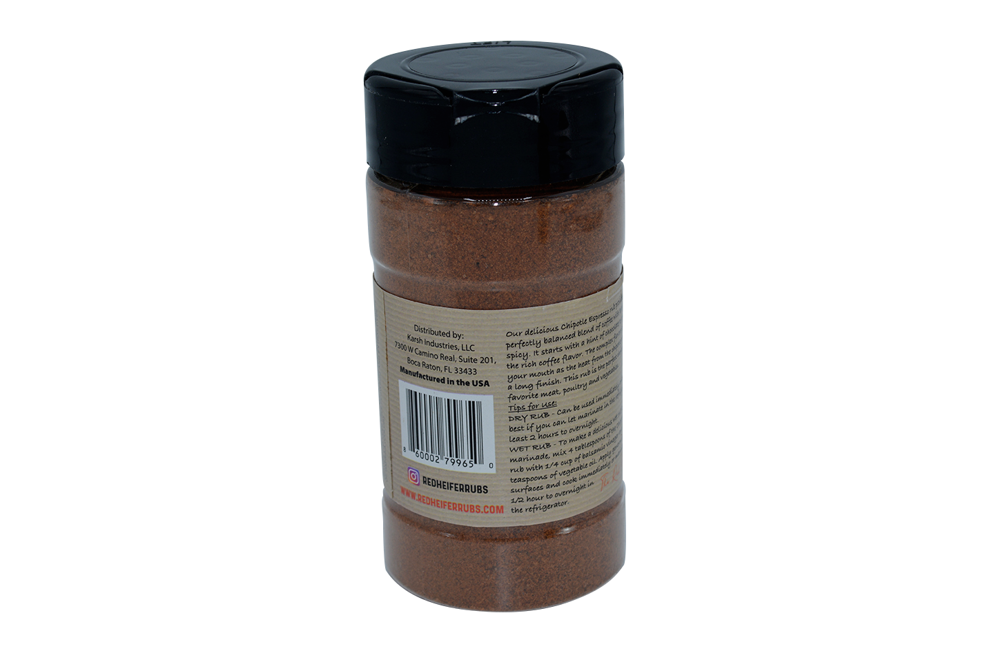 Chipotle Espresso Coffee Rub