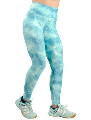 Acqua Leggings - women yoga clothes beBrazil