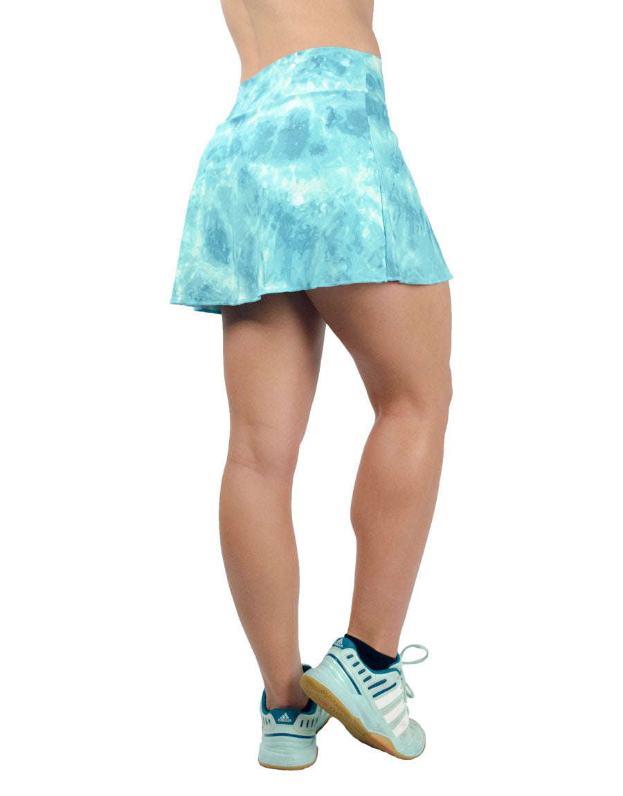 Acqua Skort - women yoga clothes beBrazil