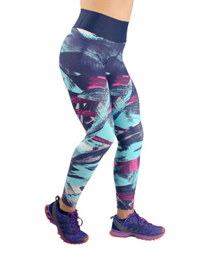 Purple Leggings - women yoga clothes beBrazil