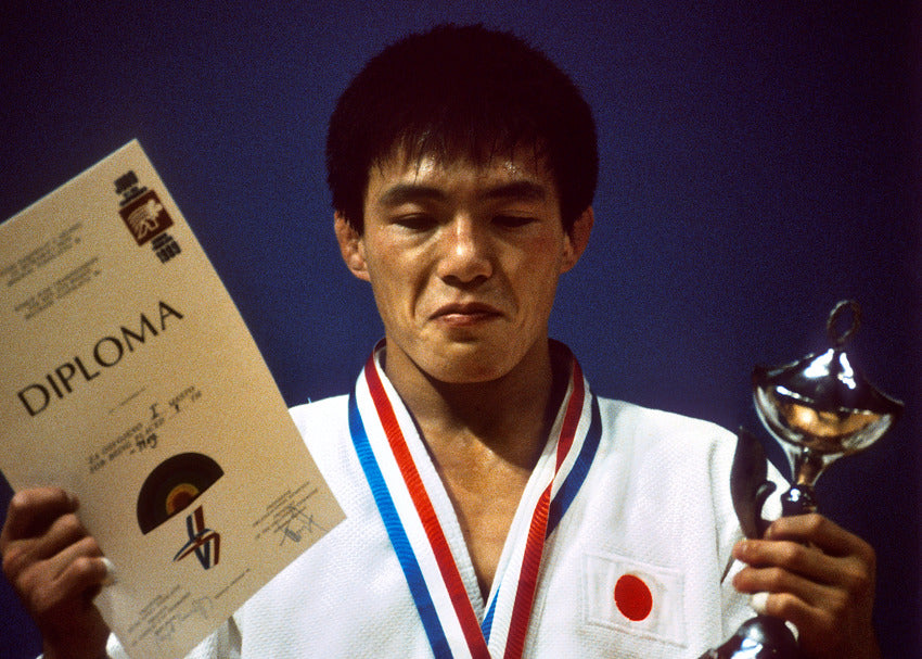 Olympic judokas who changed the Judo, Toshihiko Koga
