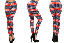 Patriotic Flag Leggings - Freedom Collection