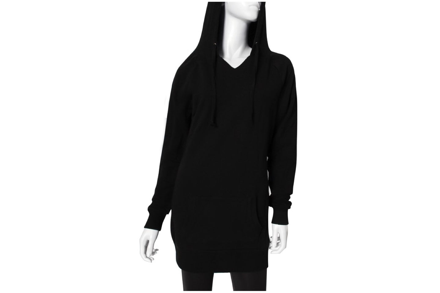 Soft & Warm Fleece Hooded Tunic Dress
