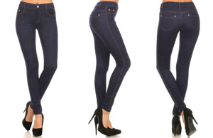 Stretchy & Soft Skinny Jean Leggings