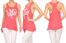 Wifey Tank Tee for the Mother, Wife, or Bride