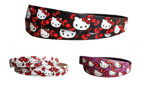 Kids' Hello Kitty Leather Belts