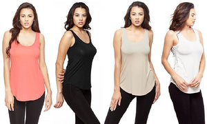 Modal Knit Tank Tee (Shrink & Fade Resistant)