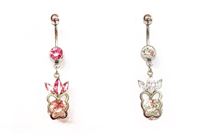 Stainless Steel Belly Rings - Royals
