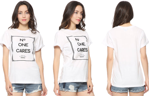 No One Cares Statement Shirt