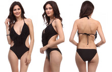 Monokini Long Fringe Summer Swimwear
