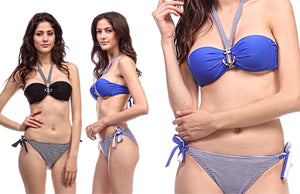 Bandeau Bikini Swimwear Set for Women