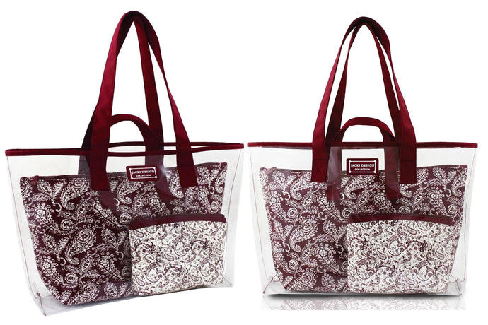 Mystique Collection 3 Piece Tote Set