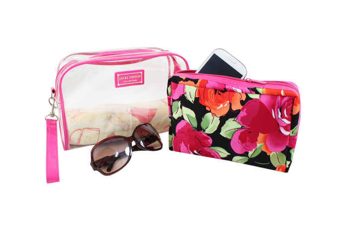 Tropicana Collection Cosmetic Bag Set
