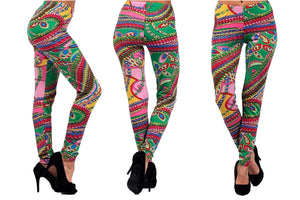 Color Me Everyday Gypsy Collection Leggings