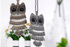 Timeless Owl Pendant Necklace