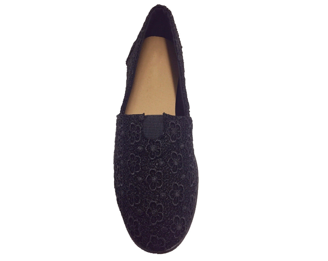 Classic Crochet Slip-On Flats