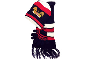 Kid's Scarf, Hat and Gloves Set (3-Pieces)