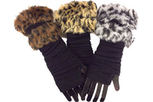 Fingerless Warmers (Cheetah)