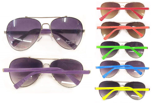 Aviator Sunglasses (Colored)