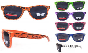 Polarized Sunglasses with Text Frames