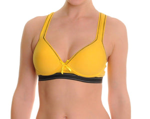 Brightly Colored Racerback Sports Bra