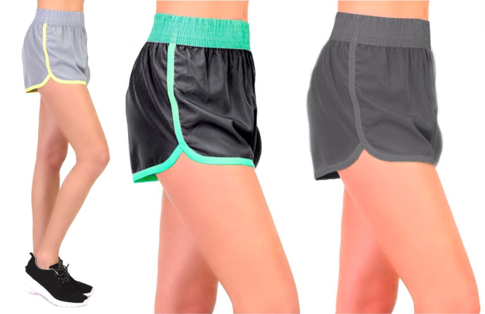 Ladies' Sports Athletic Workout Shorts