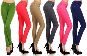 Fashion Colored Jean Leggings (Jeggings)