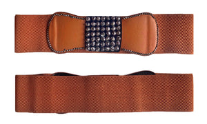 Stretchy & Adjustable 3 Inch Wide Waist Belt