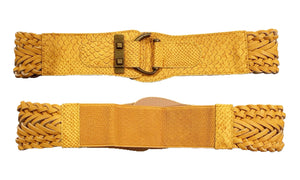 Stretchy & Adjustable 2 Inch Wide Waist Belt