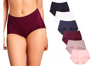 High Waist & Full Coverage Brief Panty