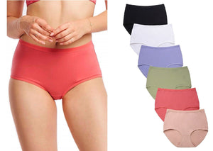 High Waist & Full Coverage Cotton Briefs