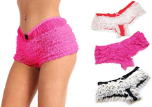 Ruffle Tiered & Sheer Lace Cheeky Panties