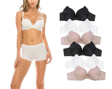 Extreme Double Push Up Silky Bras (Basic)